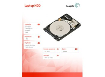 Seagate Laptop HDD  4TB 2,5'' 128MB, ST4000LM016