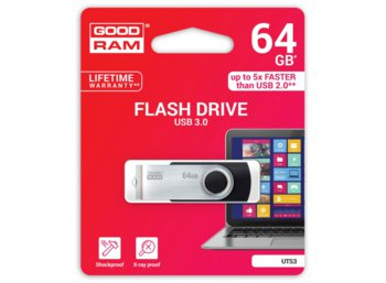 GOODRAM TWISTER BLACK 64GB USB3.0