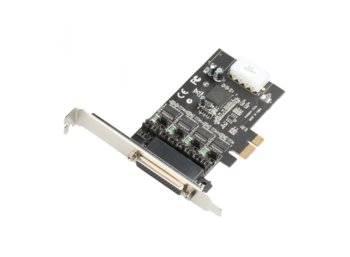 DICOTA i-tec PCI-E POS Card 4x Serial RS232 with Power Output DC 5/12V