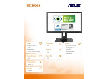 Asus 22'' BE229QLB