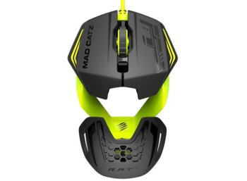 Madex Mysz R.A.T. 1 Green/Black