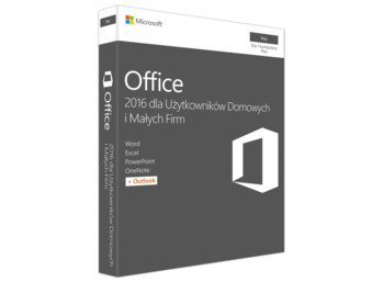 Microsoft Office Mac Home&Business 2016 ENG 32-bit/x64 P2  W6F-00952