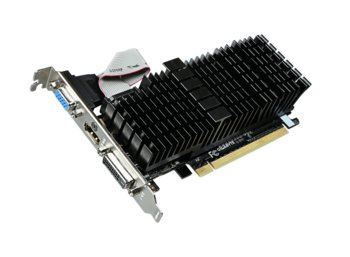 Gigabyte GeForce GT 710 1GB DDR3 64BIT DVI-D/HDMI/DSUB BOX