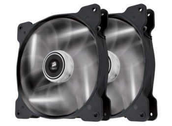 Corsair Fan SP140 LED White High Static Pressure Twin Pack