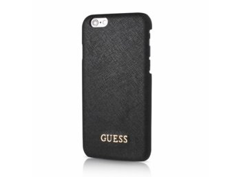 GUESS Hardcase GUHCP6LTBK iPhone 6/6S Plus czarny safiano
