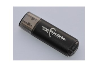 IMRO PENDRIVE 8GB BLACK IMRODRIVE