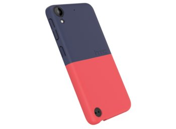 HTC HC C1250 Desire 530 2Tone Snap Case Red/Blue