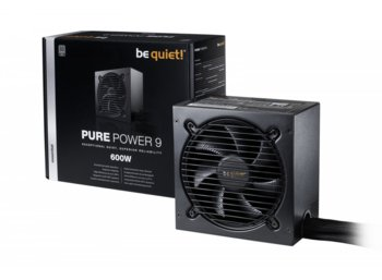 Be quiet! Pure Power 9 600W 80+ Silver BN264