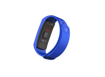 MyKronoz Activity Tracker ZeFit2 Blue Silver Pulse