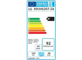LG Electronics 49''  LED              49UH6207