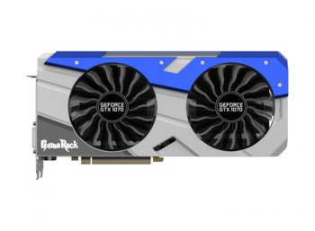 Palit GeForce CUDA GTX1070 Gamerock 8GB DDR5 256BIT DVI/3DP BUNDEL with      G-Panel