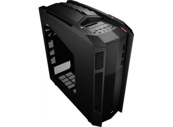 AeroCool X-PREDATOR II BLACK E-ATX 1.0mm SECC, FOR XL-ATX MOTHERBOARD