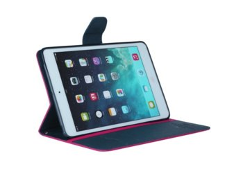 Mercury Etui Fancy iPad Mini 2/3 różowo/granatowe, notes