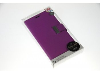 Mercury Etui RICH Note 4 fiolet/granat, notes