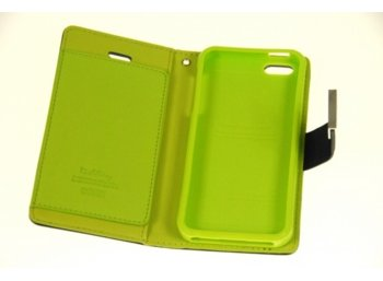 Mercury Etui RICH iPhone 6 Plus granat/limonka, notes