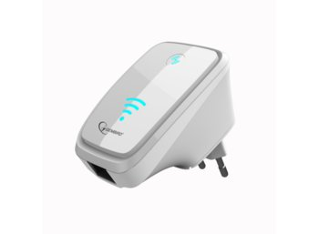 Gembird Repeater WiFi/Access Point N300 + LAN (WNP-RP-002-W)