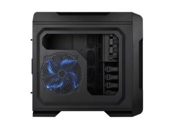 Thermaltake Chaser A71 Big Tower USB3.0 Window HDD Dock (120mm 3x200mm, LED) czarna