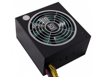 LC-POWER ZASILACZ 460W LC6460GP3 V2.3 80+ Bronze 140mm 6x SATA 2x PATA 2x PCIe Active PFC Black