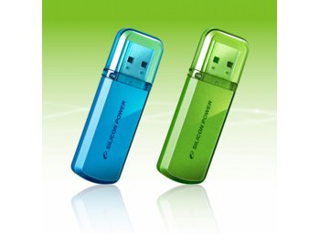 Silicon Power HELIOS 101 16GB USB 2.0 Apple Green