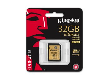 Kingston SDHC 32GB Class10 UHS-I Ultimate Flash Card