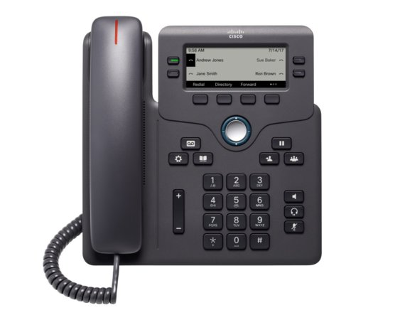 Cisco IP Phone 6851 z adapterem 4SIP