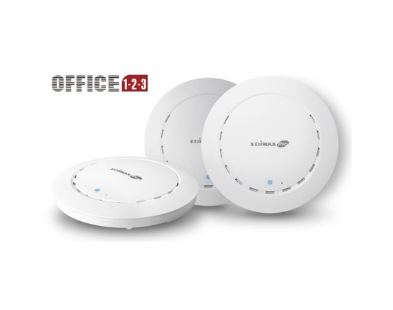 Edimax Technology Zestaw Office 1- 2-3 3xCAP1300 WiFi