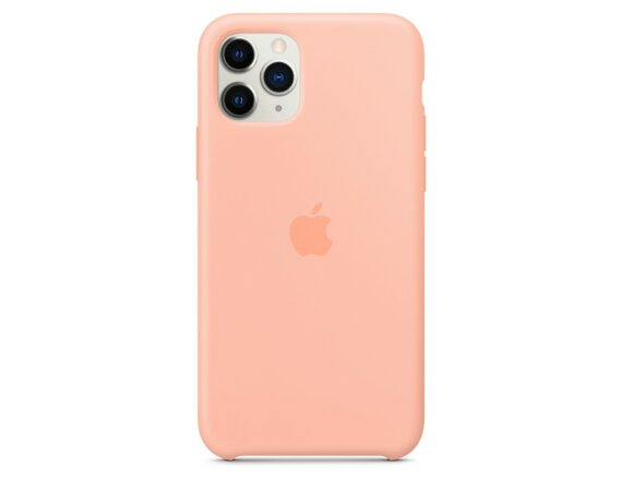 Apple Silikonowe etui do iPhone 11 Pro - grejpfrutowe