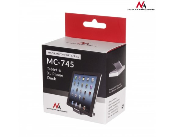 Maclean Podstawka do tabletu telefonu Comfort Series MC-745