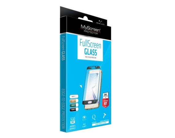 MyScreen Protector  DIAMOND Edge 3D Szkło do SAMSUNG GALAXY S7 Edge Czarny