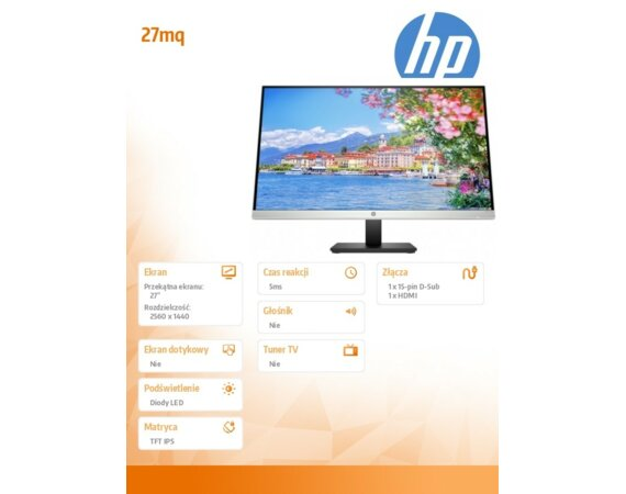 HP Inc. Monitor 27mq 1F2J9AA