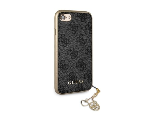 GUESS Etui hardcase GUHCI8GF4GGR iPhone 7/8 szary 4G Charms Collection