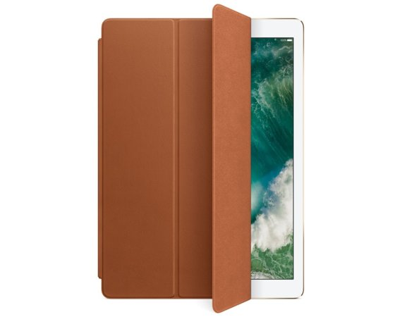 Apple iPad Pro 12.9 Leather Smart Cover - Saddle Brown