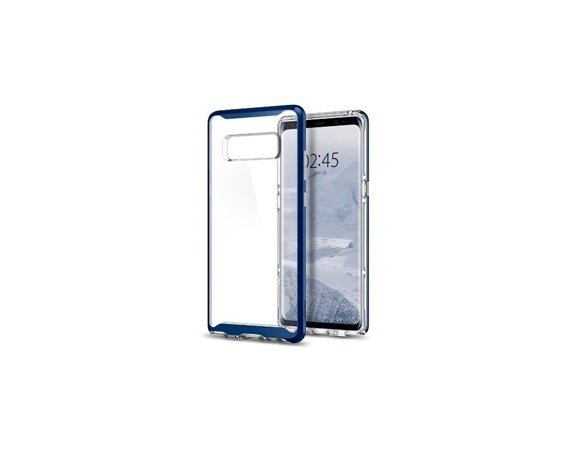SPIGEN SGP  Neo Hybrid Crystal Deep Sea Blue etui do Samsunga Galaxy Note 8