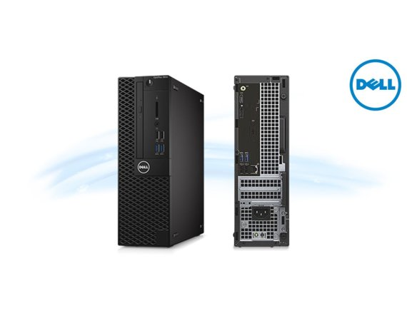 Dell Optiplex 3050SFF Win10Pro i3-7100/500GB/4GB/DVDRW/Intel HD/MS116/KB216/3Y NBD