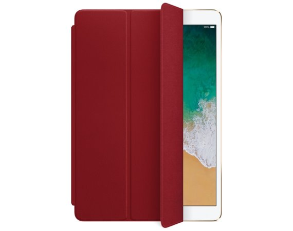 Apple Leather Smart Cover for 10.5 inch iPad Pro - (PRODUCT)RED