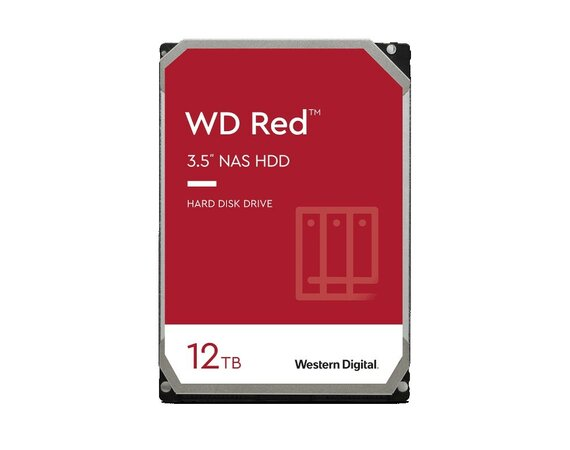 Western Digital Dysk WD Red Plus 12TB 3,5 cala CMR 256MB/5400RPM Class