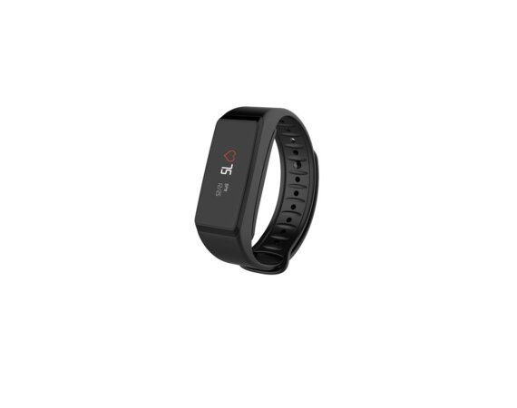 MyKronoz Activity Tracker ZeFit2 Black Pulse