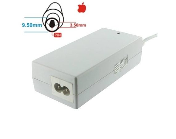 Whitenergy Zasilacz 24V | 2.65A 64W wtyk 9.5mm + pin 3.5mm Apple 05868