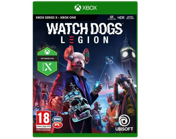 UbiSoft Gra XOne/XSX Watch Dogs Legion