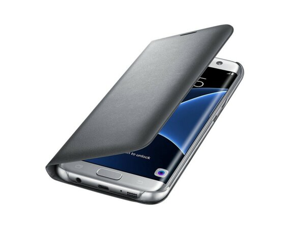 Samsung Led View Cover Galaxy S7 Edge Silver