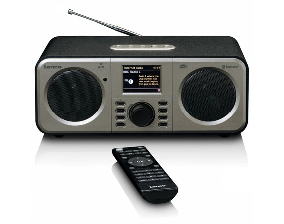 LENCO Radio internetowe DIR-140BK