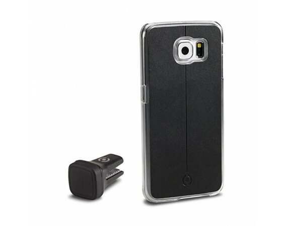 CELLY COVER + UCHWYT MAGNETYCZNY SAMSUNG GALAXY S6