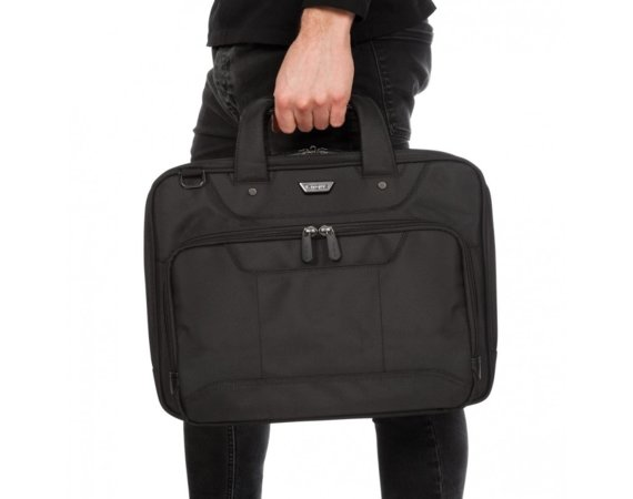 Targus Corporate Traveller 15.6'' Topload Laptop Case - Black