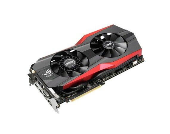 Asus GeForce CUDA GTX980 4GB 256BIT DVI/HDMI/3DP/2ROG Metal Sticker