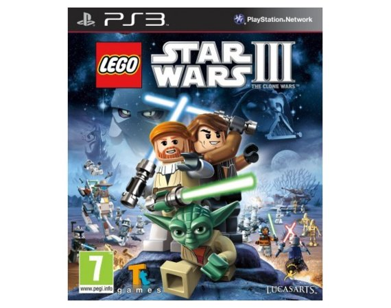 Lucas Arts LEGO Star Wars III Clone Wars PS3