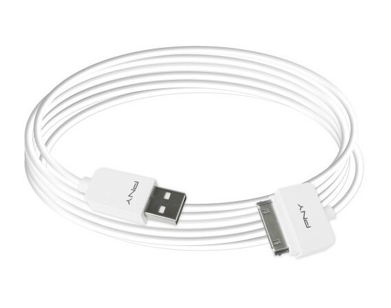 PNY Charge&Sync CableUSB 6ft/1,8m C-UA-AP-W01-06
