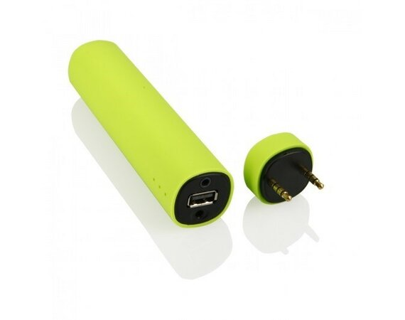 Global Technology MINI GŁOŚNIK+POWER BANK 4000mAh zielony +STOJAK