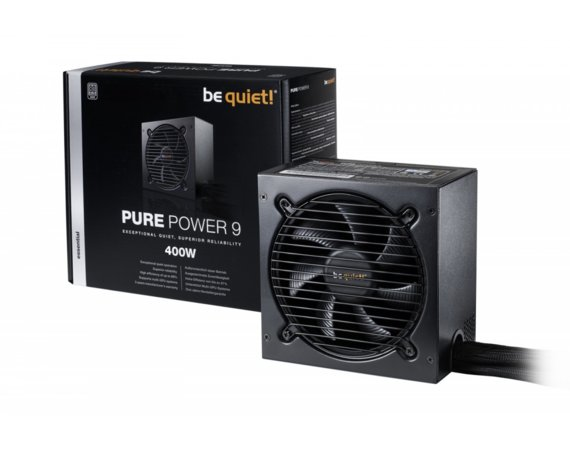 Be quiet! Pure Power 9 400W 80+ Silver BN262