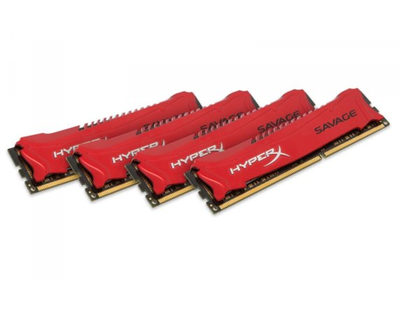 HyperX DDR3  Savage 32GB/2400 (4*8GB) CL11