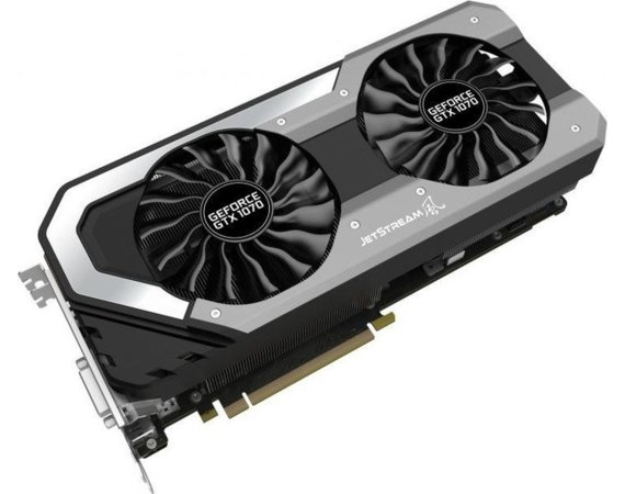 Palit Karta graficzna GeForce GTX 1070 JetStream 8GB DDR5 256BIT DVI/3DP